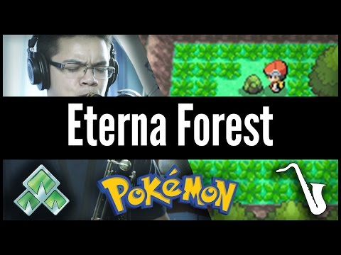 Pokémon DPPT: Eterna Forest - Jazz Cover || insaneintherainmusic