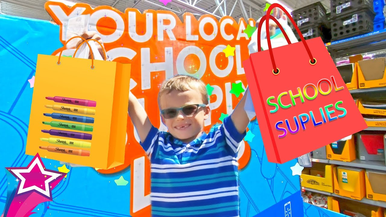 Max and Back To School Shopping Kids Story