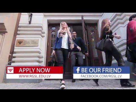 Open the doors to Riga Graduate School of Law