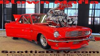"1965 Mustang ""Trifecta"" Triple Blown 427 Blown Mafia 2018 Summit Racing Equipment Atlanta Motorama"