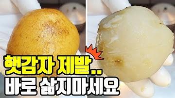 햇감자 삶기전에 이것부터 먼저 감자삶는법