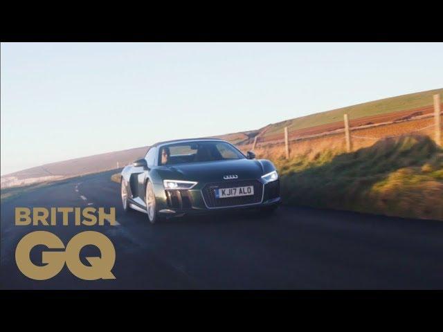 GQ tests Audi's supercar superhero | Michelin | British GQ