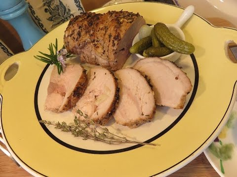 RECETTE : Petit Rôti de Porc au four à l'ancienne de la ...