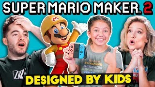 Gamers Vs. Mario Maker Levels Designed By Kids
