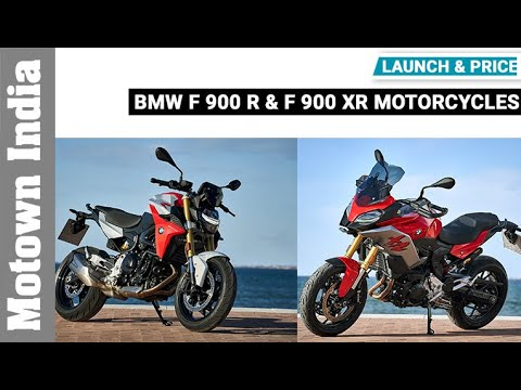BMW F 900 R & F 900 XR motorcycles | Launch & Price | Motown India