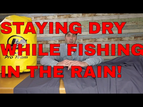 How To Dress When Fishing In The Rain, Best Rain Jackets And Gear