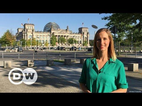Rund um den Reichstag in Berlin | DW Deutsch