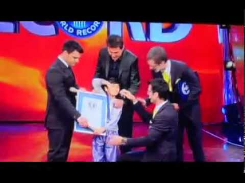 MIHIR SONI'S GUINNESS WORLD RECORD IN ROME [ITALY] IN APRIL2012