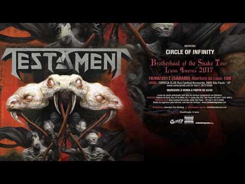 TESTAMENT - Carioca Club - São Paulo - 19/08/2017 - (Full Concert - HQ Audio)