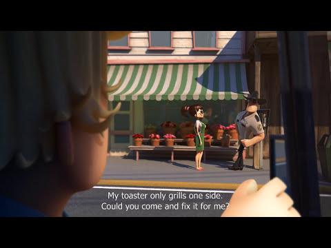 "CGI 3D Animated Short Film ""ELECTROSHOCK"" Fantastic Funny Animation by ESMA"