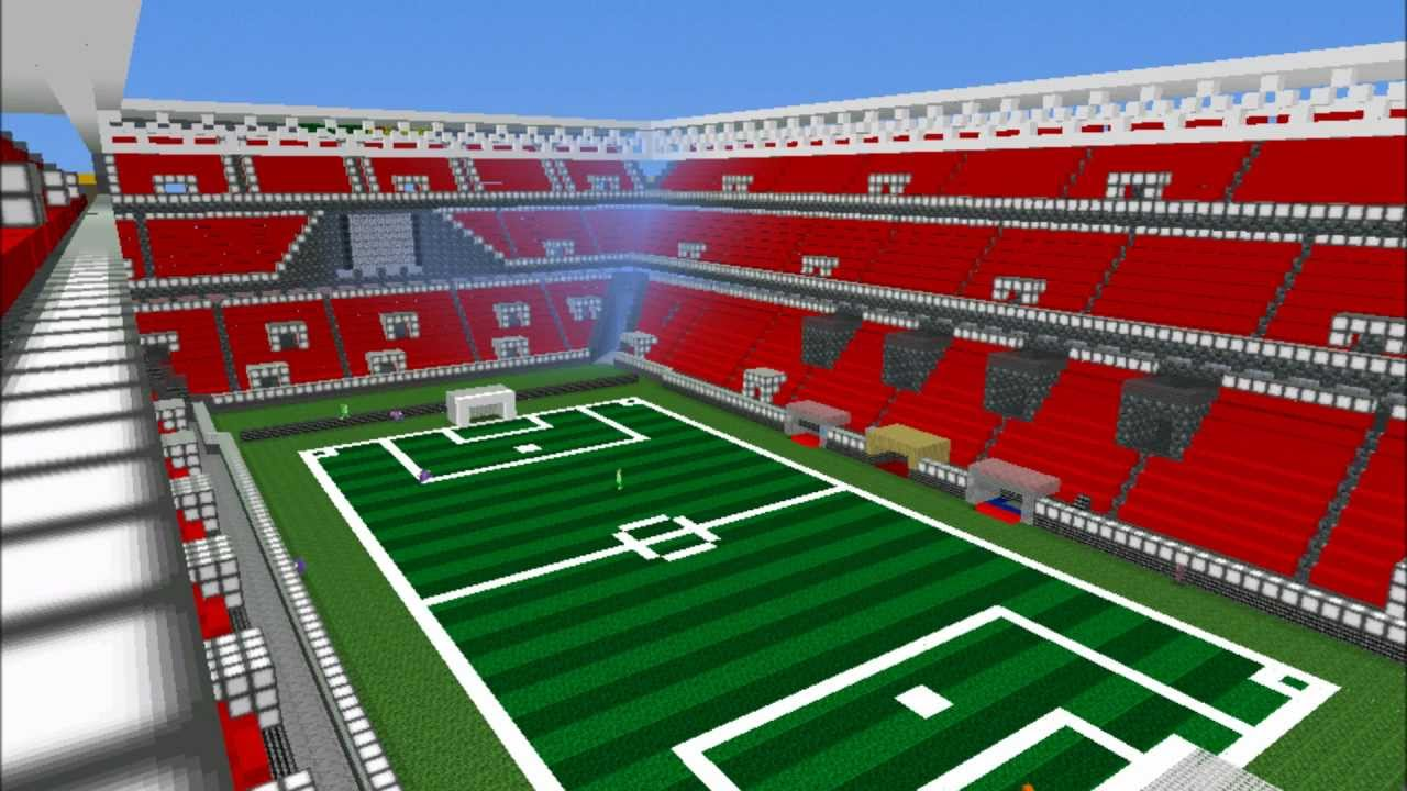 How To Build Stadium Seating In Minecraft