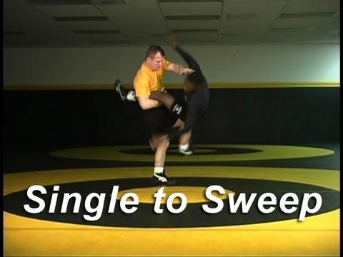 Wrestling Moves KOLAT.COM Single Leg to Sweep Finish