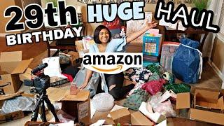 HUGE Amazon Wishlist Unboxing + Haul | What I Got For My 29th Birthday!