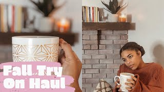FALL TRY ON CLOTHING HAUL | AMERICAN EAGLE, GOODNIGHT MACAROON | COZY SWEATER HAUL