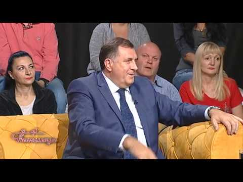 CIRILICA - Predsednik RS Milorad Dodik / Buducnost BiH i RS nakon pobede - TV Happy 15.10.2018
