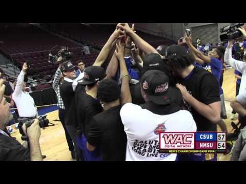 WAC Champions: CSU Bakersfield Buzzer Beater Shot