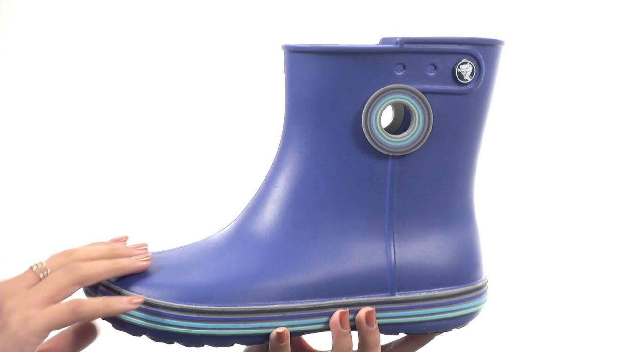 a0b6591430bf Crocs Jaunt Strips Shorty Boot SKU 8651754 - YouTube