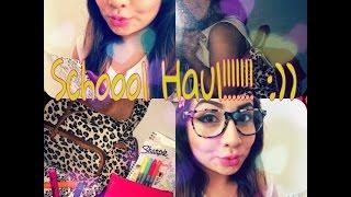 Schoool Haul!!!!!! Thumbnail