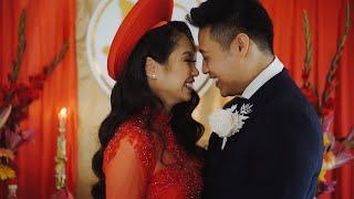 Melbourne Pavilion | Wedding Highlights | Trinh and Alvin | Silver Arrow Films
