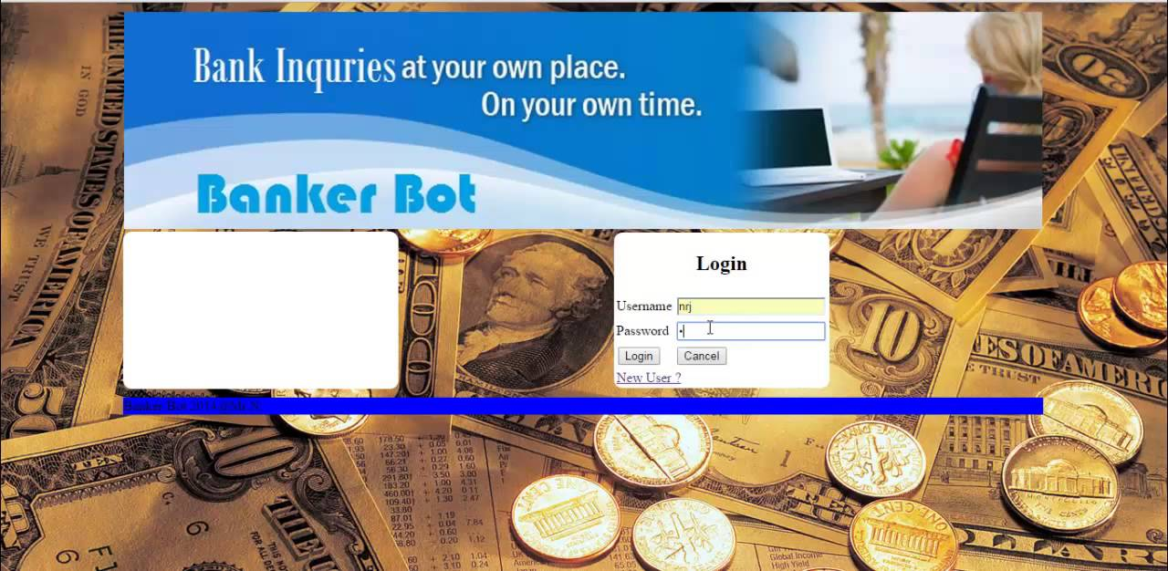 Banking Bot System Project