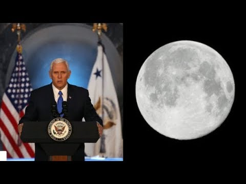 Mike Pence: NASA Will Put Humans on the Moon Again