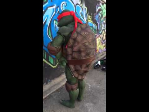 Tmnt Raphael tutorial prop costume suit & Tmnt Raphael tutorial prop costume suit - YouTube