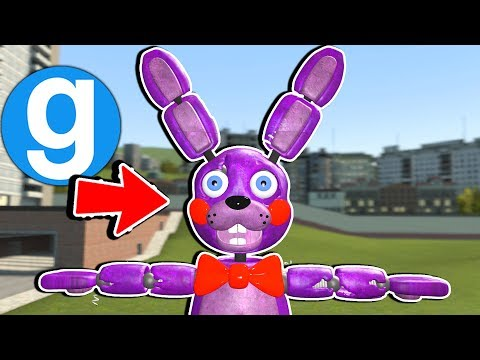 NEW FNAF THEODORE ANIMATRONIC Garry's Mod Sandbox Five Nights at Freddy's thumbnail