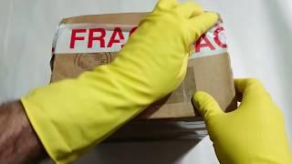 ASMR show: FRAGILE! unboxing vintage 80s GPO rotary telephone (speed #ASMR)