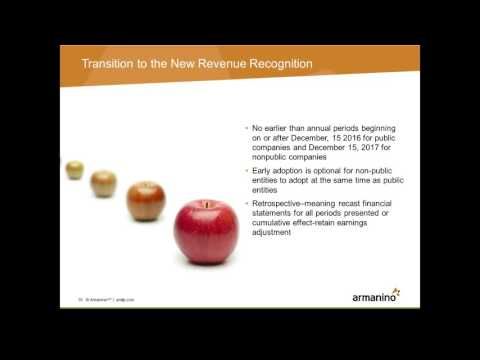 Revenue Recognition New Standards You Need to Know