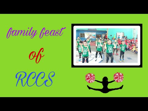 Family feast ng  Risen Christ Catholic School.. Good job Green  team... Especially my  SON..