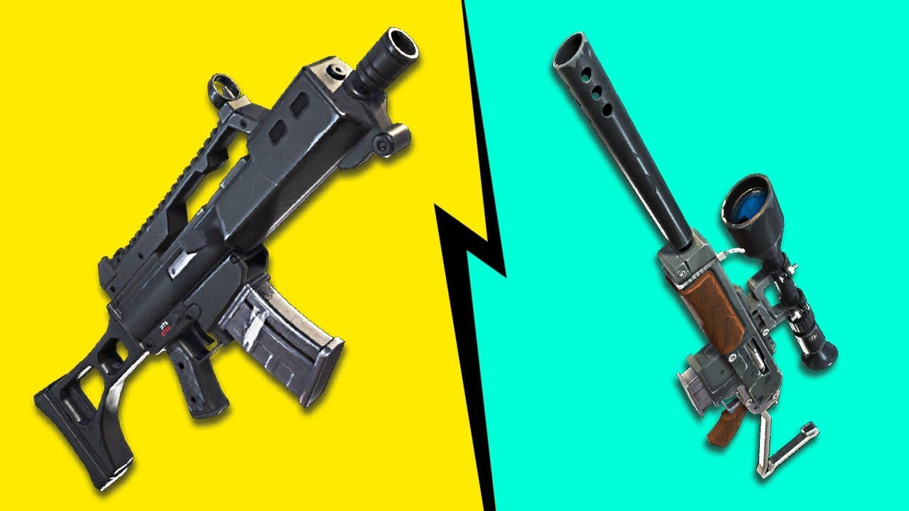 Foto de todas as armas do fortnite