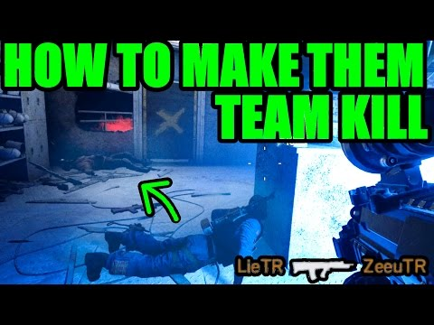 HOW TO MAKE THE ENEMY TEAM KILL - Rainbow Six Siege Funny & Epic Moments