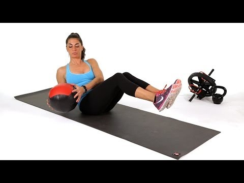How to Do Medicine Ball Side Twists | Abs Workout