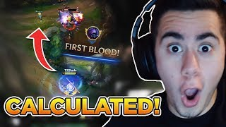 HOW TO GET FIRST BLOOD 99% OF THE TIME! (OP Warding Tip)