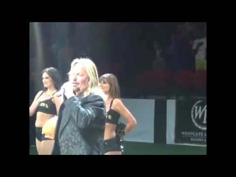 Christie James - Vince Neil Butchers National Anthem! Yikes!! (VIDEO)