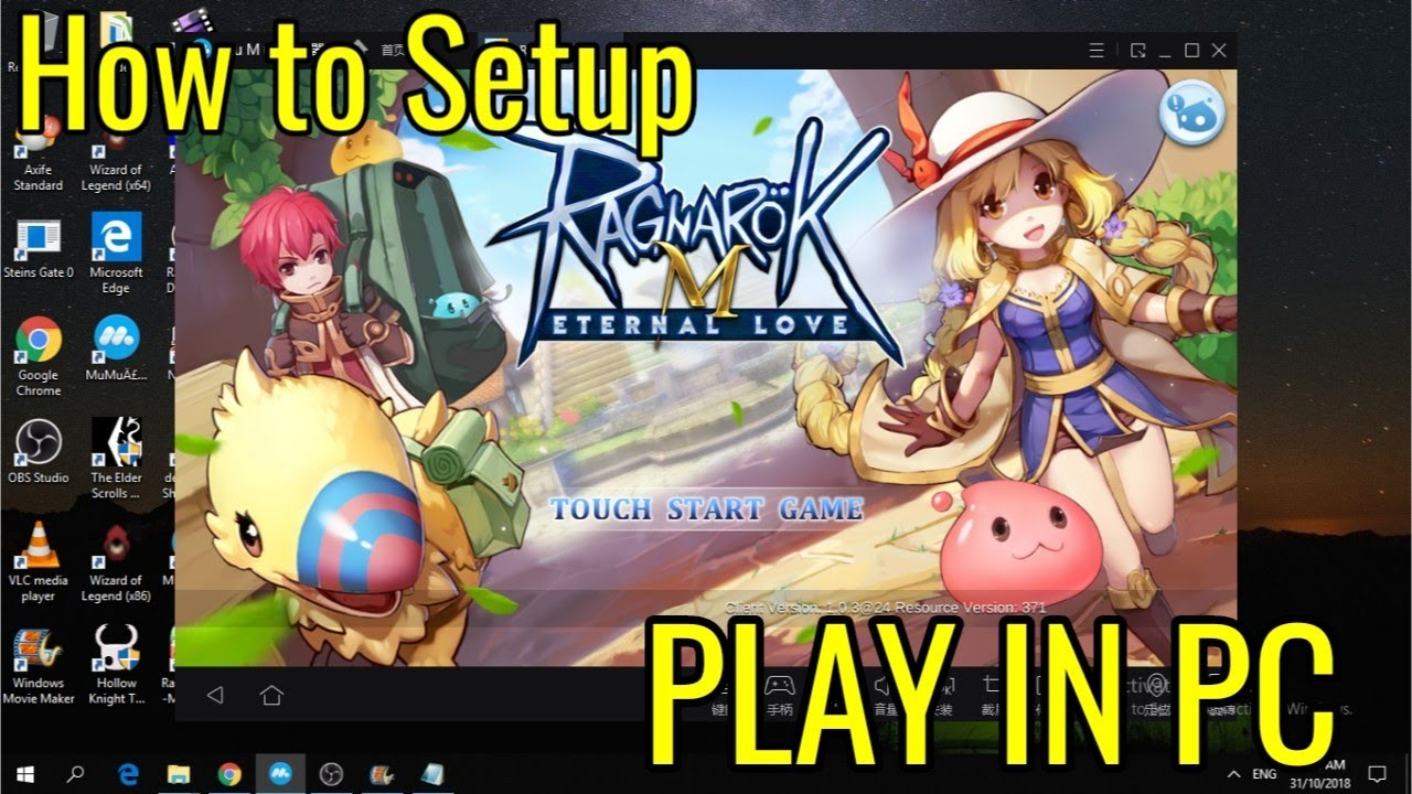 How to play Ragnarok Mobile Eternal Love in PC