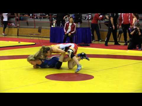 2015 Nordhagen Classic: 48 kg Gen Morrison vs. Annie Monteith