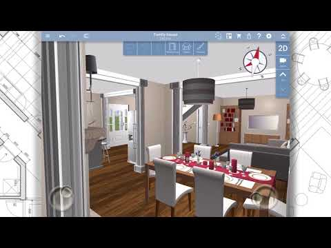 Home design 3d freemium apps on google play for App para crear casas 3d