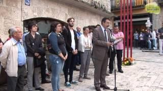 Actes institucionals a Banyoles de commemoració de la Diada