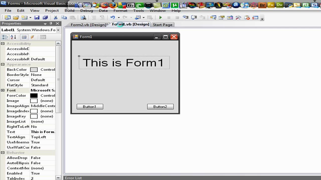 visual basic how to close a form