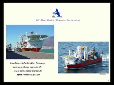 Afri-Can Marine Minerals eRoadshow August 2012