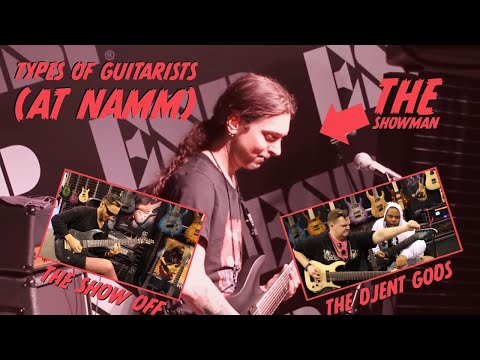 Types of guitarists (AT NAMM)