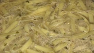 How To Prepare Chicken  And  Noodles  Homemade  - Funny Hot Recipes,food, Kitchen,cooking