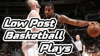 BEST Low Post ISO Basketball Plays