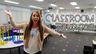 CLASSROOM TOUR with Full Flexible Seating | My Classroom Set Up 2017