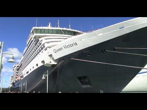 """""""inCruises"""". Обзор лайнера Queen Victoria от Cunard Line, подробный репортаж с корабля"""