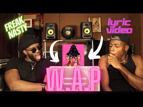 Cardi B - WAP feat. Megan Thee Stallion [Official Lyric Video] *FUNNY REACTION*