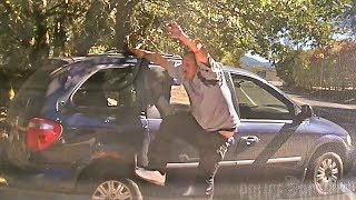 Dashcam Shows Police Shootout With Drunk Suspect in Redwood Valley, California