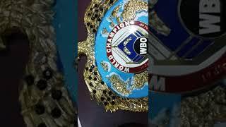 replica wbo championship belt