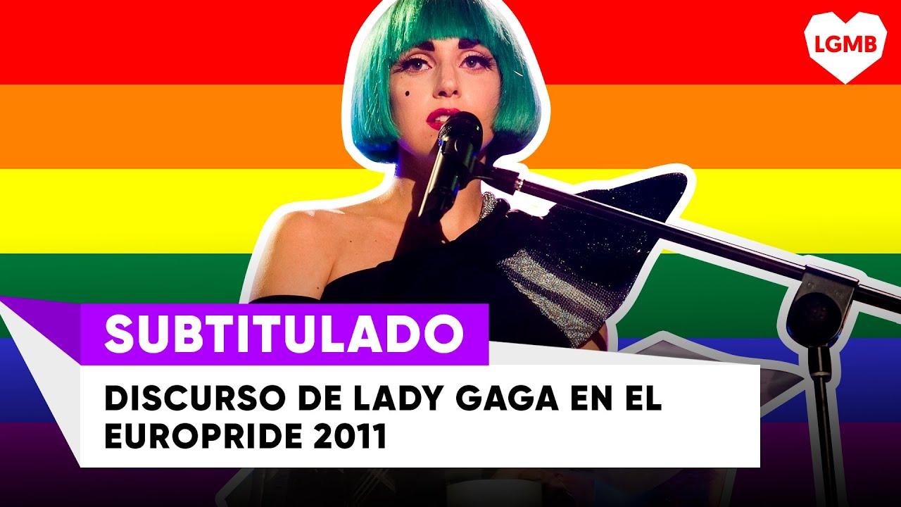 THROWBACK: Discurso de Lady Gaga en el Europride 2011 (Subtitulado)